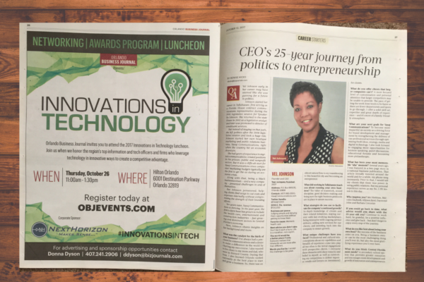 Orlando Business Journal article